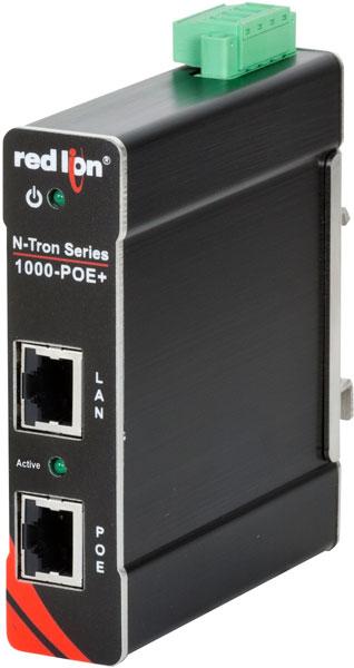 Инжектор 1000-POE+ работает по принципу plug-and-play и не нуждается в администрировании