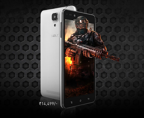 Смартфон Xolo Play 6X-1000 оснащен пятидюймовым экраном типа IPS
