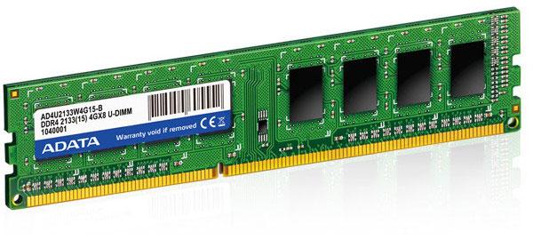 ������ ������ Adata Premier DDR4 2133 UDIMM �������� ������� �������� ��������