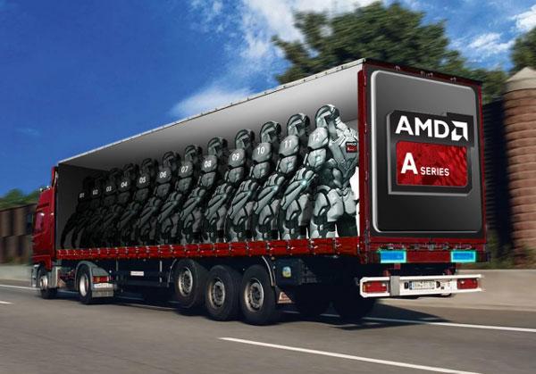 APU Kaveri имеет 12 «вычислительных ядер» — 4 ядра CPU и 8 ядер GPU
