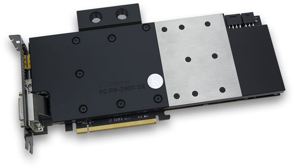 Продажи EK-FC R9-290X SE - Acetal+Nickel начнутся в конце месяца