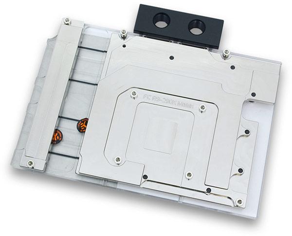 В состав одной СВО можно включать до четырех водоблоков EK-FC780 GTX Ti Matrix или EK-FC R9-290X Matrix