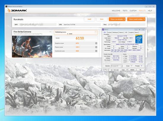 Результат теста Nvidia Geforce GTX 880 в 3DMark равен 6110 баллам
