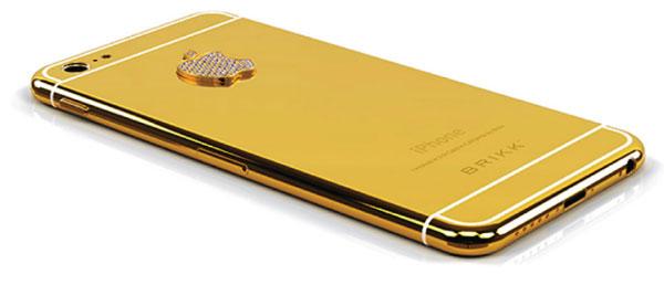 Apple iPhone 6 в золоте, платине и бриллиантах уже можно увидеть и предварительно заказать на сайте компании Brikk