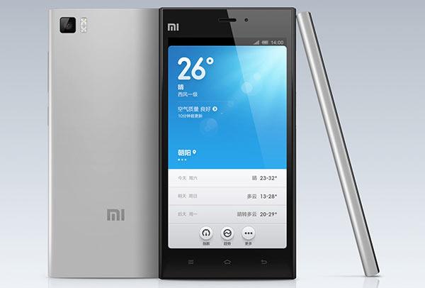 �������� Xiaomi Mi 3 ��� ����������� �� Android 4.3