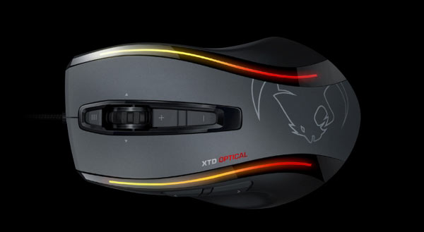 Продажи Roccat Kone XTD Optical в Европе и Азии уже стартовали по цене 90 евро