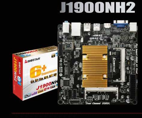 Модели J1900NH2 и A68N-5000 соответственно на SoC Intel J1900 и AMD E4-5000 с четырехъядерными CPU позиционируются в качестве основы для HTPC