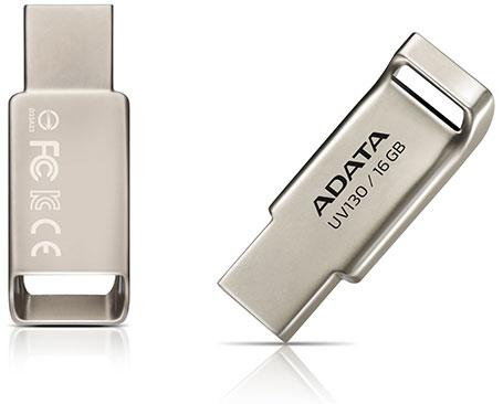 Накопитель Adata UV130 доступен объемом 8 и 16 ГБ