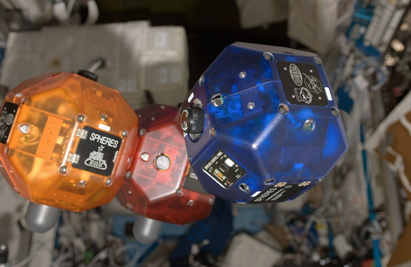 Google NASA SPHERES