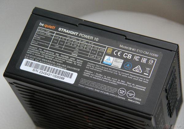 Блоки питания Be Quiet! Straight Power 10 оснащены комбинированными кабельными системами