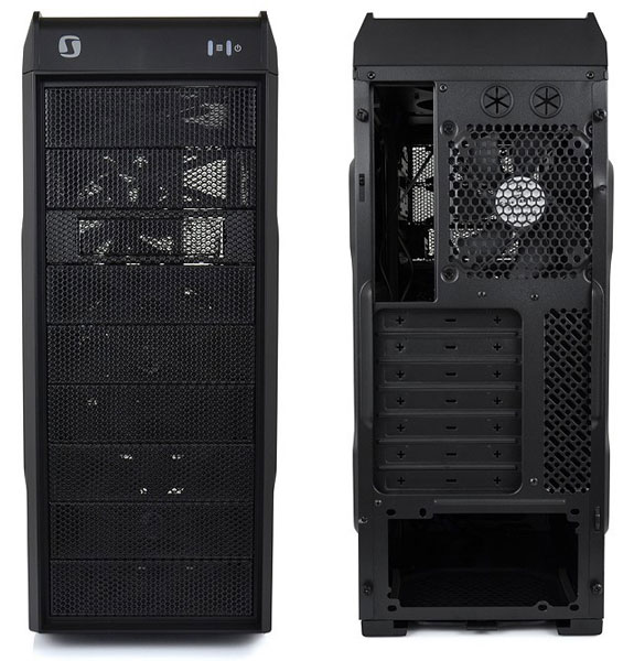 При габаритах 473 x 452 x 198 мм корпус SilentiumPC Gladius M30 Pure Black весит 4,5 кг