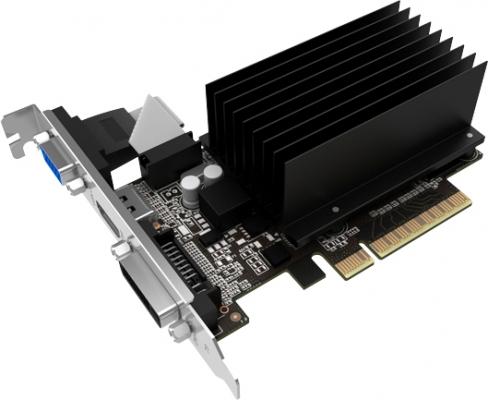 Все 3D-карты Palit GeForce GT 730 имеют по одному видеовыходу DVI, HDMI и VGA