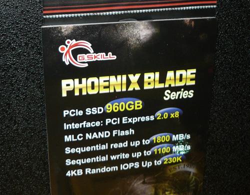 G.Skill Phoenix Blade, спецификации