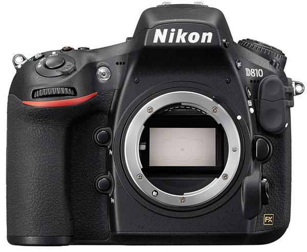 Nikon D810 - первая цифровая зеркальная камера Nikon с минимальной светочувствительностью ISO 64