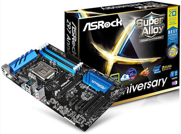 ����� ������ ���� ASRock Z97 Anniversary � Z97M Anniversary �������� ������� Pentium Anniversary Boost