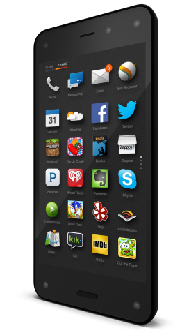 Смартфон Amazon Fire Phone поддерживает LTE