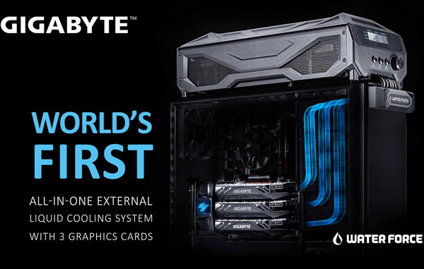 ������������ ������������ ������� ����������� ���������� WaterForce All-in-one External Liquid Cooling System
