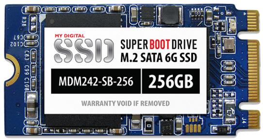 ����� ������������� ����������� MyDigitalSSD Super Boot ����������� M.2 2242 ������ 256 ��
