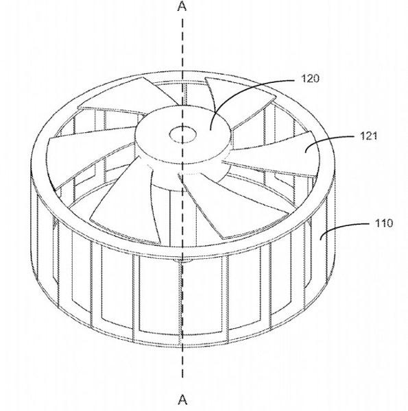 Nvidia получила патент на вентилятор Turbofan