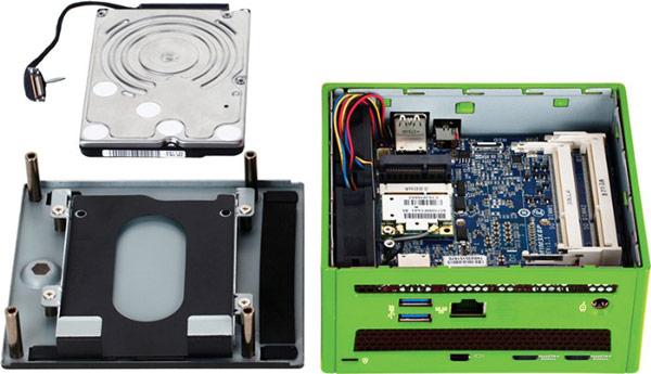 Основой Brix Gaming служит миниатюрная плата с процессором Intel Core i5 4200H