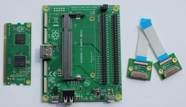 Raspberry Pi Compute Module Development Kits