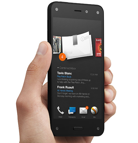 Смартфон Amazon Fire Phone поддерживает LTE