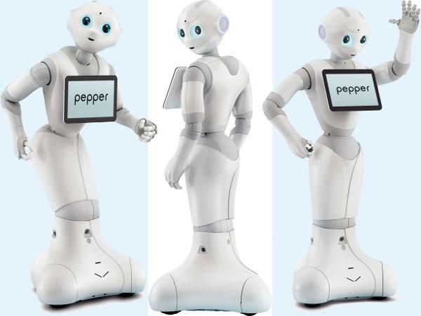 SoftBank Mobile и Aldebaran представили робота Pepper