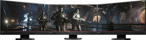 Монитор EIZO Foris FS2434 имеет два входа HDMI и один вход DVI-D