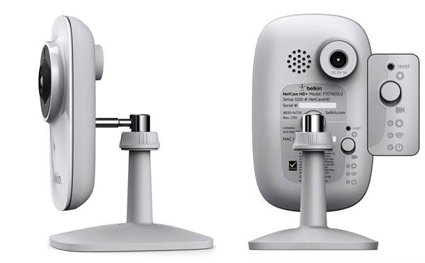 IP-камера Belkin NetCam HD+ оснащена интерфейсом Wi-Fi