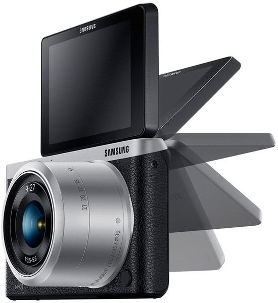 Камера Samsung NX mini размерами 110 x 62 x 23 мм весит 196 г