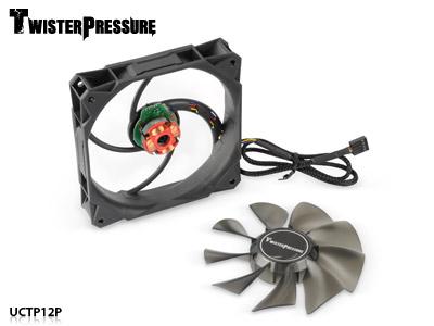 В вентиляторах Enermax TwisterPressure UCTP12P реализовано управление скоростью вращения с помощью ШИМ