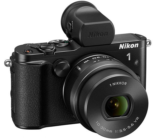 Беззеркальная камера Nikon 1 V3 позволяет вести серийную съемку со скоростью до 60 к/с