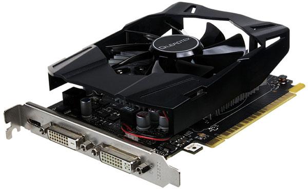 В конфигурацию GTX 750 Ti входит 640 ядер CUDA
