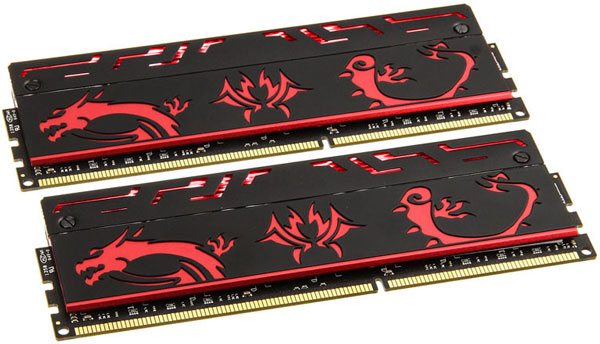 � ����� Avexir Blitz Red Dragon 1.1 ����� ������ ������ DDR3, ���������� �� �������� �� 1600 �� 3200 ���