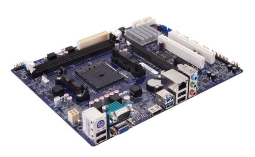 Основой системных плат Foxconn A55MP, A55MP-D, A75MP и A75MP-D служат чипсеты AMD A55 и AMD A75