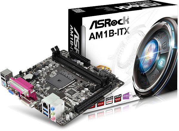 К необычным элементам оснащения ASRock AM1B-ITX следует отнести разъем LPT