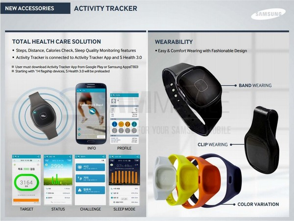 трекер активности Samsung