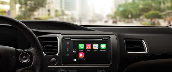 ������� CarPlay ����� ������� ������������ ��������� � �������� ������������������� �� ��������� ������������� ����������