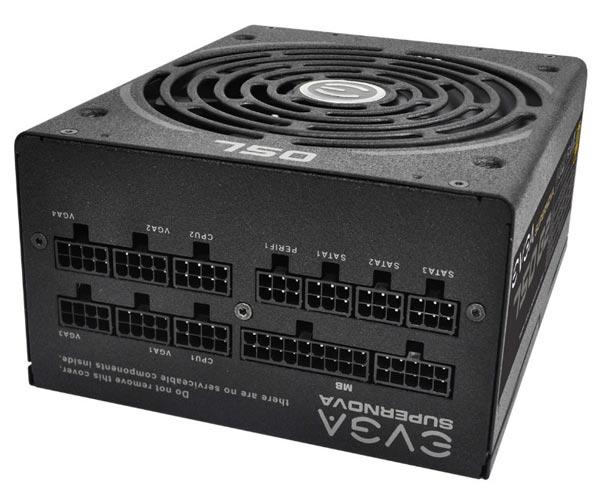 В блоках питания SuperNova 750 G2 и SuperNova 850 G2 реализована функция ECO Intelligent Thermal Control
