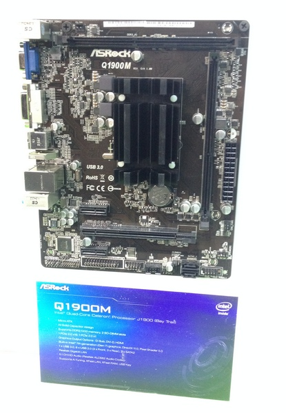 AsRock Q1900M, Q1900-ITX, Q1900DC-ITX и Q1800B-ITX