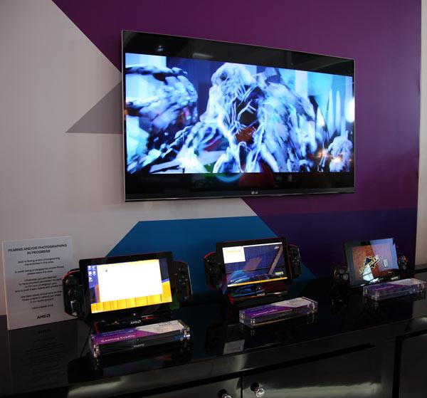 AMD показала на MWC 2014 устройства на мобильных APU нового поколения