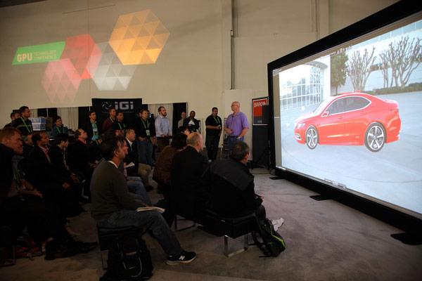 Компания Nvidia продолжает помогать компаниям, занимающимся визуализацией различной информации