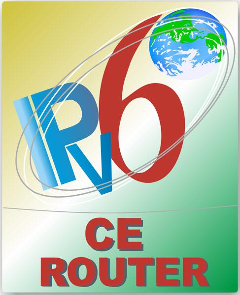 Логотип IPv6 Ready CE Router служит своеобразным знаком качества оборудования