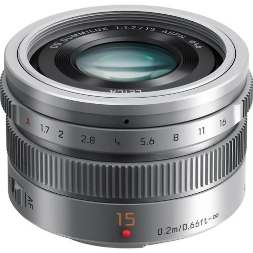 Цена объектива Panasonic Leica DG Summilux 15mm F1.7 ASPH - $599