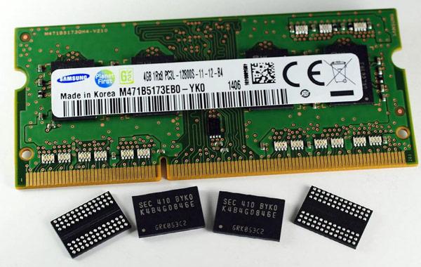 На данный момент нормы 20 нм являются минимальными, освоенными в серийном производстве DRAM