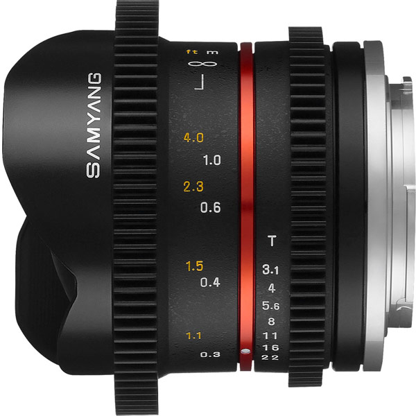 �������� Samyang 8mm T3.1 V-DSLR UMC Fish-eye II ������������� ��� �����������