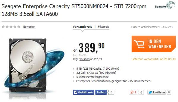 Seagate ST5000NM0024, ����