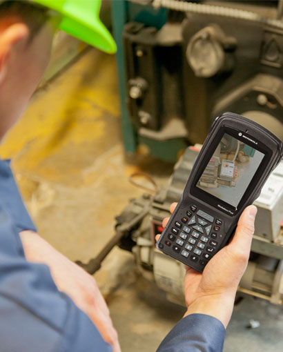 ��� ���������� Motorola Solutions Workabout Pro 4 � ��������� ���������� ������ ����������� ������ ����-������