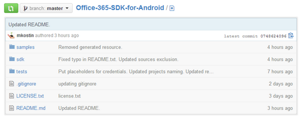 Office Android SDK