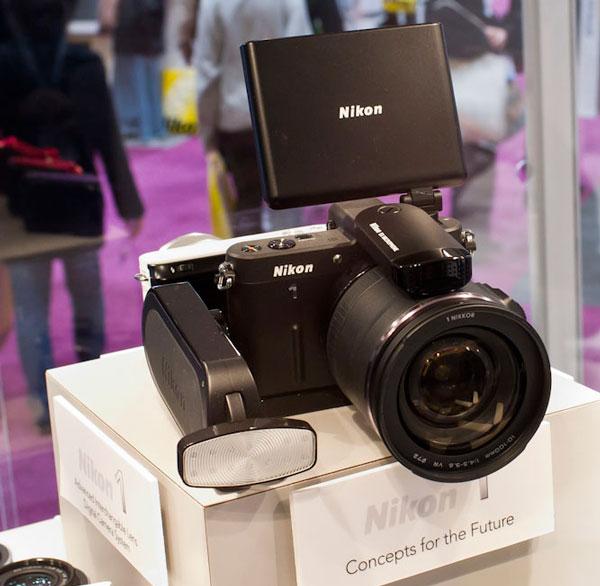По предварительным данным, у камеры Nikon 1 V3 не будет оптического видоискателя